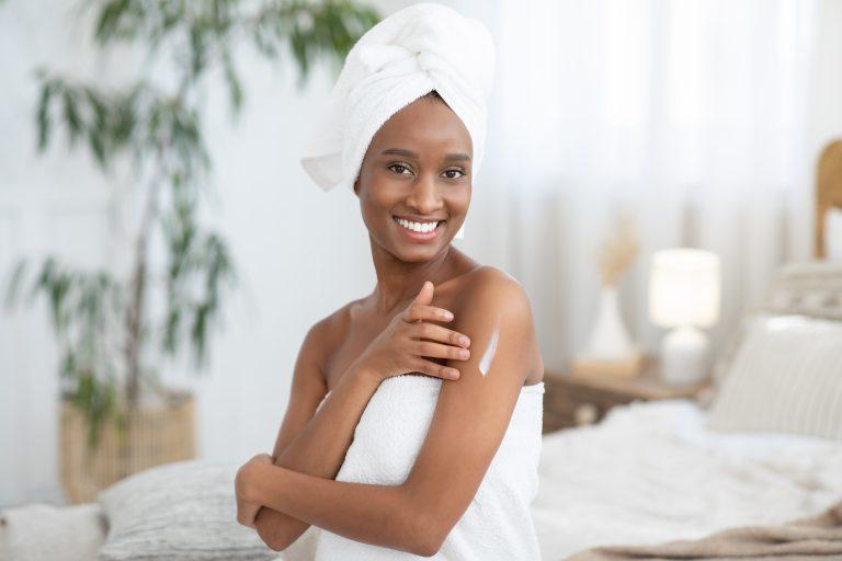 Minimalistic skincare